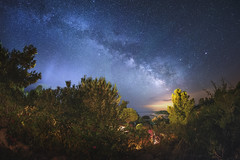"Thank you Mr ""Anyway"" Gianni  (Corsica) (Mathulak) Tags: night way star corsica d750 12mm milky voie milkyway palombaggia voielacte samyang lacte"