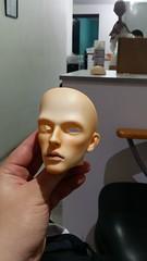 Face ups and wig progress #kiddelf #impledoll #impledollmartin #faceup #bjdwig (edwbardales128) Tags: faceup kiddelf bjdwig impledoll impledollmartin