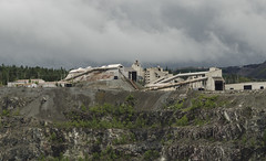 Asbestos Mine, Quebec, Canada (kurttavares) Tags: summer canada storm abandoned clouds mine quebec qc thunder pq asbestos urbex chaudireappalaches