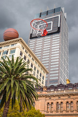 Office games (james.popsys) Tags: abstract basketball composite office sydney creative surreal games conceptual hoops nba skyscrapper