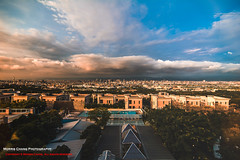 Window view. Taichung. Taiwan ( (Morris)) Tags: blue sunset sky orange window nikon view outdoor ngc taiwan taichung   d7100
