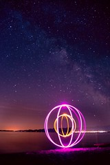 Star (~138~) Tags: ocean longexposure blue light sky canada lightpainting abstract color colour art beach nature colors lines night ball dark way fun outside outdoors lights evening spring cool interesting nikon nightlights colours bc nightscape purple action britishcolumbia awesome curves may orb funky pacificocean impact round paintingwithlight pacificnorthwest streaks milky milkyway lightart lightsculpture lightpaint singleexposure dereklawrence taylorbeach lightjunkies derek138 lpwalliance funbeachfun