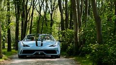 Beautiful specs! (Nicomonaco73) Tags: ferrari 458 speciale aperta beautiful cars coffee italia brescia d7100 wild blue worldcars