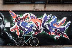 New York Street Art (jomak14) Tags: bianchipista gf2 lumixgvario1442f3556 newyork panasonic streetart wheremybiketakesme 2016 wellingcourtmuralproject astoriaqueens