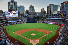 Washington Nationals vs San Diego Padres at Petco Park San Diego CA (mbell1975) Tags: california park ca city usa field skyline america major us washington san unitedstates sandiego baseball stadium diego calif arena cal american padres vs nationals league petco cityskyline mlb majorleague