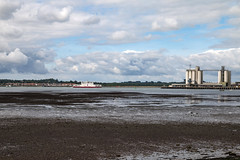 Isle of Wight ferry on its way into Southampton (gail_heaton) Tags: southamptonwater westonshore isleofwightferry