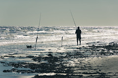 IMGP8009.jpg (PenTex) Tags: galveston beach silhouette fishing fisherman sand surf waves houston fishingpole
