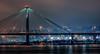 Clark Bridge (Bob Sandor 2016) Tags: alton clarkbridge missouri stlouis missippiriver mist eos5dsr illinois 4thofjuly canon ef200mmf2lisusm independenceday nightshoot