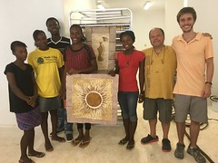 Hector & paper team (Haiti Partners) Tags: hector socialbusiness entrepreneurship july 2016 papermaking
