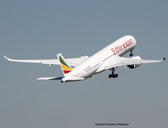 Ethiopian Airlines. Airbus A350-941. (Jacques PANAS) Tags: ethiopian airlines airbus a350941 etatq fwzgm msn040