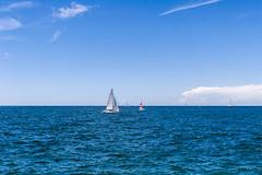 Piran Portoroz (Nymand Geringerer) Tags: sea meer sailing piran segelboot portoroz