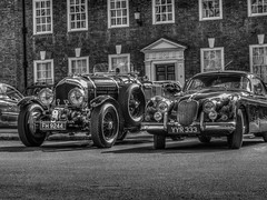 The Classic Car Line Up (RS400) Tags: old school white black west cars car buildings wow amazing cool south transport gloucestershire wicked gloucester dull glocester