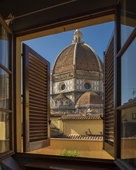 Escape (Brian Koprowski) Tags: travel vacation italy church window lines florence nikon europe italia day architectural tuscany frame firenze duomo framing d610 airbnb briankoprowski