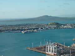 City of Sails (<aj>) Tags: harbor auckland skytower devonport