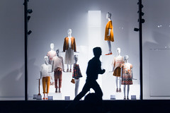Honor Among Thieves (Bonafide Paradigms) Tags: lighting portrait mannequin window fashion silhouette photography corporate photo hoodie cool nice interesting perfect display action good awesome snapshot running best minimal story negativespace figure thief concept capitalism lowkey minimalistic zara photooftheday