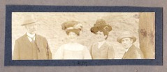 The Saer Family Wales 1907 (Bury Gardener) Tags: uk blackandwhite bw wales vintage oldies edwardian 1900s