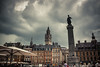 Lille (Gilderic Photography) Tags: sky france tower clouds canon ciel lille 500d gilderic