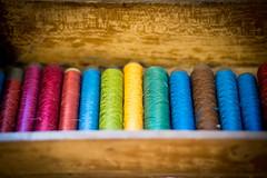 {el color amarillo} (ana pardos corrales) Tags: color colour hilos seda soie silk fil amarillo yellow