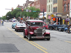 Nostalgia Nights Pottstown 7/2/2016 (Speeder1) Tags: show street hot classic ford 1955 car 1932 muscle machine chevelle camaro nostalgia pa chevy 1957 rod nights mustang 1973 pottstown