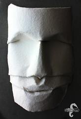 Colossus (WIP) (mitanei) Tags: origami masks mask mitanei face ancient stone paperart papierkunst papierskulptur gesicht skulptur keepfoldingon colossus faces