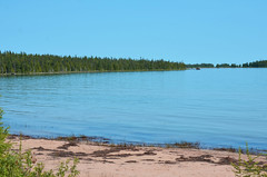 Stevenson Bay Lake Huron (U.S. Fish and Wildlife Service - Midwest Region) Tags: lakehuron michigan summer stevenson bay water sand upper pennisula