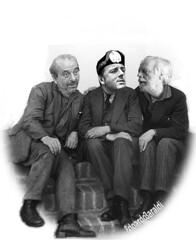 LEZZO (edoardo.baraldi) Tags: referendum vauro satira fascismo duce comici renzi staino m5s