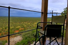 Storm Watch in Dolomite Camp (zenseas : )) Tags: africa vacation holiday colour rain stormy safari rainy colourful storms namibia etosha dolomite etoshanationalpark westernetosha westernetoshanationalpark