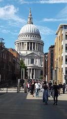 Millennium Bridge London towards St Pauls Cathedral (H. Smithers) Tags: bridge london st cathedral pauls millennium towards