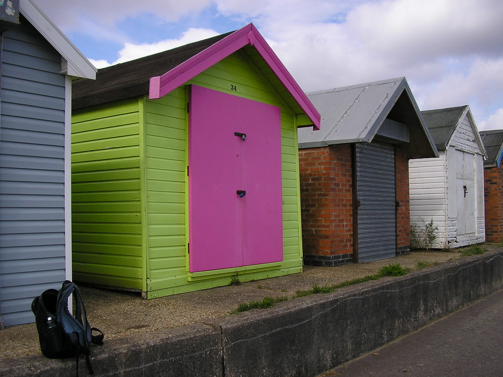Beach Huts, Chapel St. Leonards