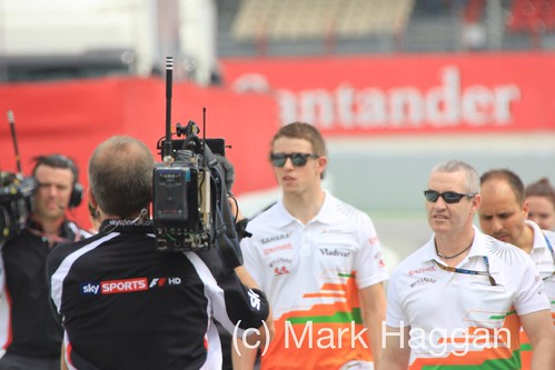 Paul Di Resta at the 2013 Spanish Grand Prix