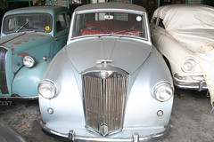 Triumph Mayflower. Classic Car Museum/Dealer, Pilimathalawa, Sri Lanka (SurreyWanderer) Tags: classiccar fifties triumph srilanka standard eight forties mayflower simca aronde