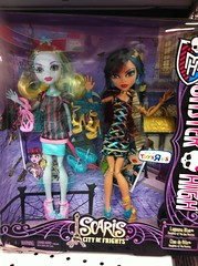 Scaris 2 pack Lagoona Cleo (jinjurblythe) Tags: 2 monster high lagoon pack cleo scaris