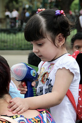 future hairdresser (michelle.dawn) Tags: kids hair toygun disneylandhongkong