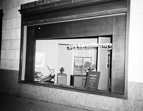 seattle 1950s offices airconditioning windowdisplays seattlecitylight seattlemunicipalarchives