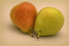 Just two (Ruth Hill) Tags: two stilllife fruit pears