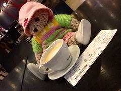 Tyana J LittleString at the Airport in Frankfurt, Germany (sunltcloud) Tags: j weimar tyana littlestring