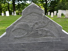 Lily Of The Valley (amyboemig) Tags: summer flower cemetery graveyard june stone grey vermont gray carving graves carve relief marble vt lilyofthevalley sugared 251 landgrove