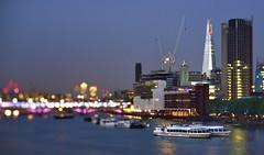 New London skyline- The Shard (Vladimir Zakharov ヴラディミール ザハロ) Tags: london oxo oxotower theshard