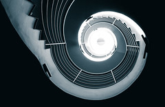 There Is A Light (Philipp Götze) Tags: architecture spiral stair treppe staircase architektur erlangen treppenhaus