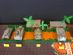 World War Brick 2013 D-Day +2 (TooMuchDew) Tags: worldwarbrick2013 wwb brickmania dansiskind lego minneapolis brickarms gibrick brickmercenaries mmcbcapes bulleseyebricks wwwbrickmaniacom wwwworldwarbrickcom