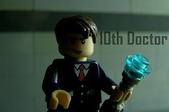 The 10th Doctor (FinalShotFilms) Tags: lego box who police sonic doctor tardis custom screwdriver