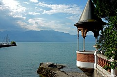 Vue imprenable (Diegojack) Tags: lac lman vue paysages lutry