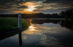 Broekpolder-00341 (Arie van Tilborg) Tags: sunset vlaardingen reigers lepelaars zonsondergangen broekpolder recreatiegebied