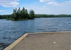 Sawbill Lake boat landing