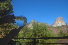 Parque Estadual da Pedra Azul (Stella Pado) Tags: reflection azul brasil landscape paisaje paisagem martins reflexo pedra domingos santo esprito