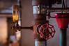 Turn up the pressure (glukorizon) Tags: red urban metal rust utrecht pipe nederland valve meter rood gauge metaal pijp roest ventiel kraan manometer pressuregauge defabrique klep pressuremeter drukmeter