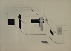 El Lissitzky, Kestnermappe Proun 6 (rosswolfe1) Tags: architecture abstractart communism lissitzky proun