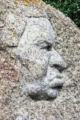 Love That  face.. or Not (Jocey K) Tags: sculpture art face rock southaustralia victorharbor austraila fleurieupeninsula graniteisland