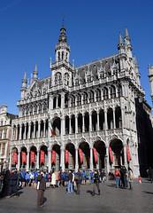 Bruxelles, Grand-Place, maison du Roi (Ytierny) Tags: architecture construction belgique grandplace cit bruxelles muse capitale brussel btiment touriste maisonduroi cosmopolite flamande ytierny