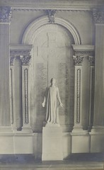 Photograph of First World War memorial in the Great Library (Law Society of Upper Canada Archives) Tags: sculpture toronto memorial worldwari firstworldwar osgoodehall